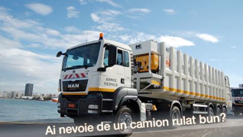 Camioane rulate certificate de către MAN