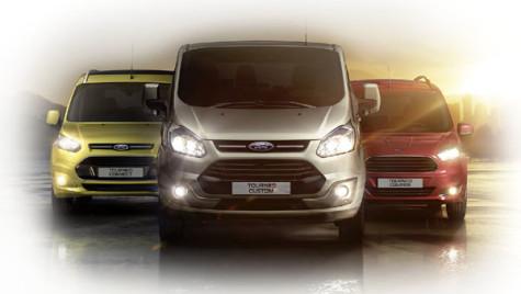 Vehicule comerciale uşoare: O flotă complexă de la Ford