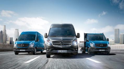"Mercedes-Benz Sprinter, ""greul"" utilitarelor uşoare"
