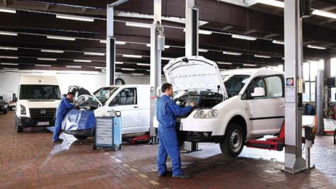 Service-ul Volkswagen Autovehicule Comerciale. Calitate la preţuri corecte