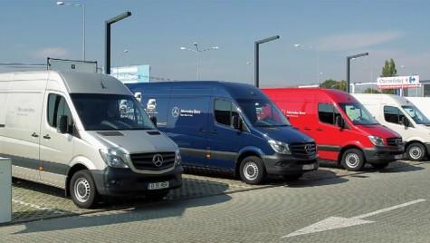 Mercedes-Benz Sprinter. Sprinten prin definiţie