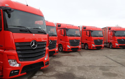 Zece noi camioane Mercedes-Benz Actros în flota Cartrans Preda