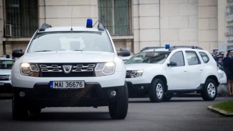În flota Poliţiei au intrat alte 132 de Dacia Duster