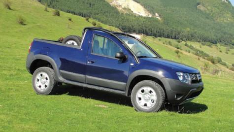 Dacia Duster Pick-Up. Flotă inedită la comandă. Totul made in Romania