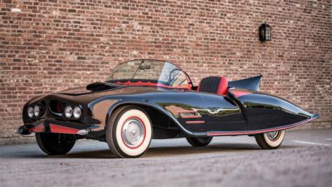 Batmobilul original din 1963, vândut la licitaţie pentru doar 137.000 de dolari