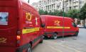 Mega-flotă de utilitare prin leasing financiar pentru Poşta Română