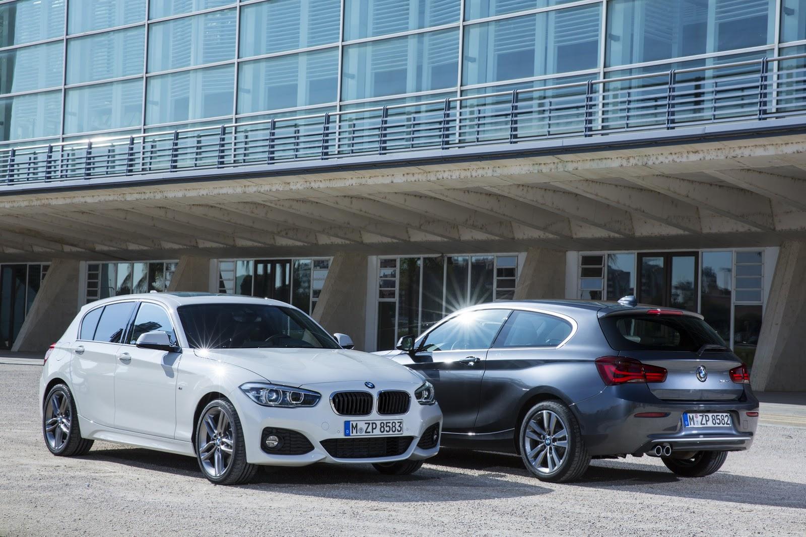 BMW Seria 1 facelift 2015 - floteauto 1
