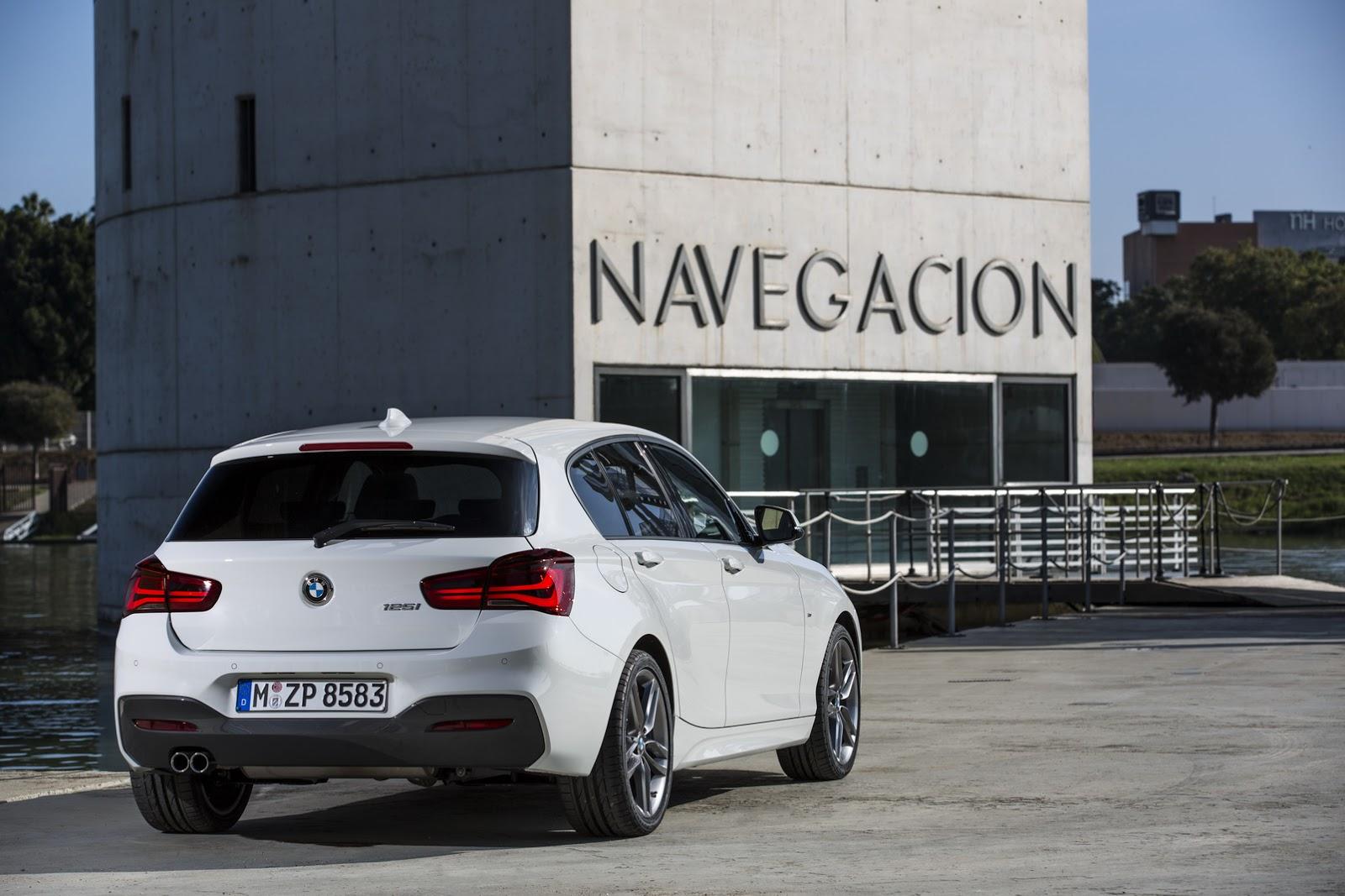 BMW Seria 1 facelift 2015 - floteauto 2