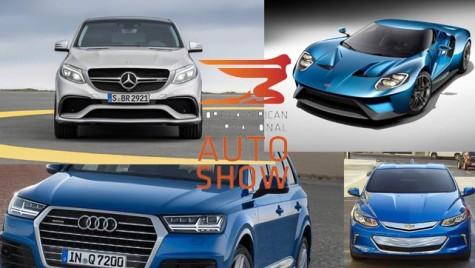 Marile noutăți auto din 2015, prefigurate la Salonul Auto de la Detroit