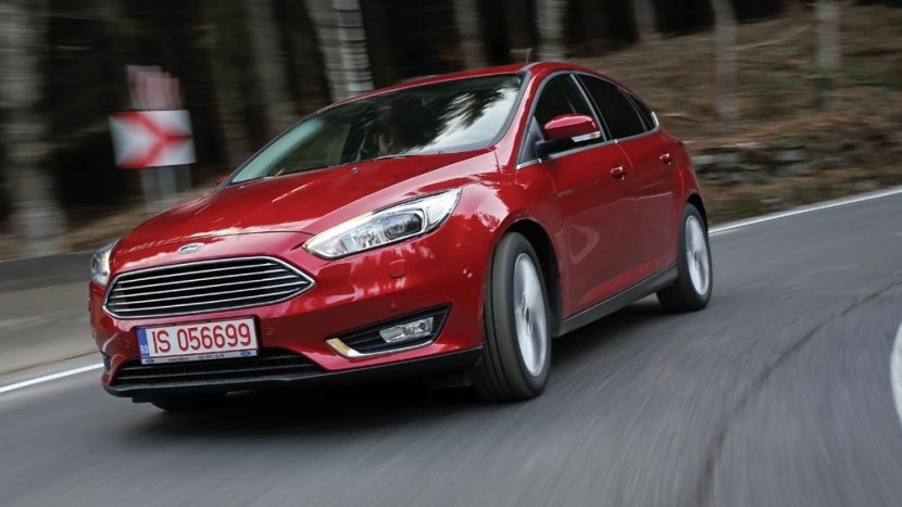 test ford focus facelift - floteauto 0