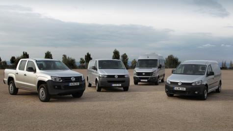 Volkswagen a vândut, în 2014, aproape 445.000 de vehicule comerciale