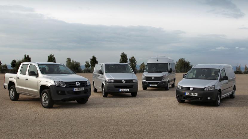 vanzari volkswagen vehicule comerciale 2014 - floteauto