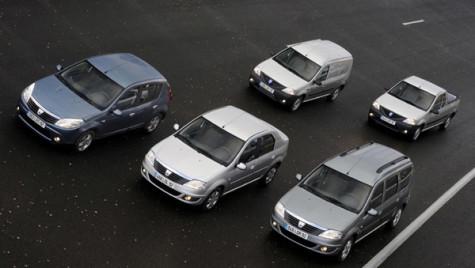 Livrările Dacia au crescut cu 7,3% în ianuarie, peste avansul pieţei europene