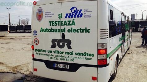 100 de autobuze electrice, în Capitală