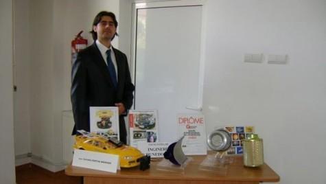 Dispozitivul de alimentare a autovehiculelor cu lichid de parbriz, medaliat cu aur la Geneva