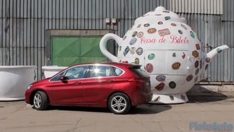 Test BMW Seria 2 Active Tourer: oarecum ciudat, dar perfect viabil