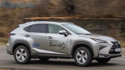 Test Lexus NX 300h – insinuare directă