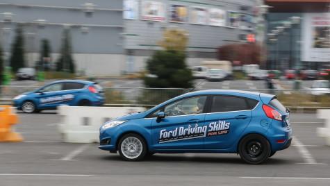 "În mai, programul ""Ford Driving Skills for Life"" ajunge la Iași și la Cluj-Napoca"