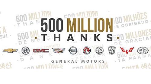gm 500 milioane masini - floteauto 0