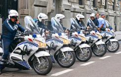 Cinci motociclete pentru flota Poliţiei Rutiere