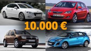 top 10 masini second hand 10000 euro - floteauto 0