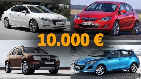 TOP 10: recomandări mașini second hand la 10.000 de euro