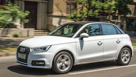 Flotă premium. Test cu Audi A1