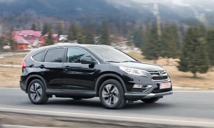 Potenţial de flotă. Test Honda CR-V facelift 1.6 i-DTEC 160 CP 4WD