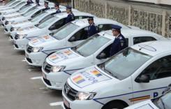 Alte 250 de autospeciale Dacia Logan au intrat în flota Poliţiei