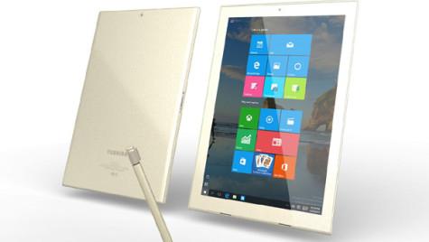 Biroul din maşină. Toshiba lansează tableta care reinventează pixul şi hârtia