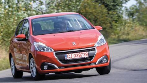 Test cu Peugeot 208. Rafinat şi eficient