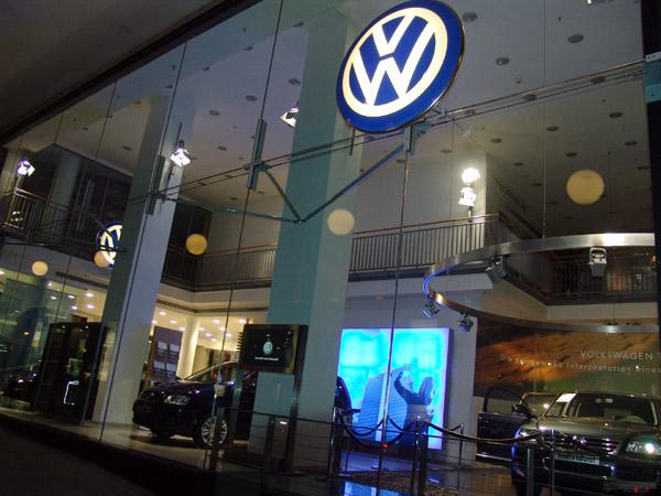 Volkswagen-floteauto