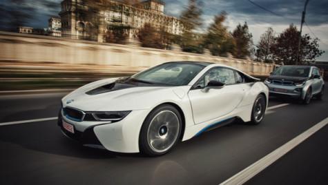 ALD Automotive livrează primul BMW i8 în România