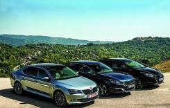 Test comparativ Skoda Superb, Hyundai i40, Peugeot 508. Alegeri pragmatice