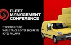A patra ediţie a evenimentului Fleet Management Conference va avea loc pe 17 noiembrie