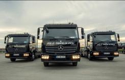 Dolo Trans Olimpic a mizat pe o flotă de la Mercedes-Benz