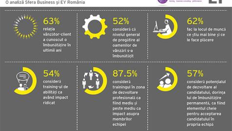Provocările unui manager de vânzări. Infografic