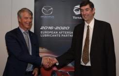 Total rămâne furnizorul exclusiv de lubrifianţi pentru Mazda