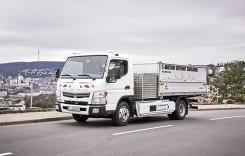 Daimler testează o flotă de utilitare electrice