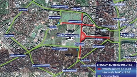 Drumuri restrictionate in weekendul 16-17 aprilie
