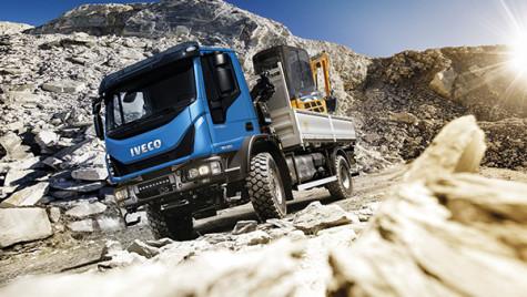 Premieră mondială: Iveco Eurocargo 4×4