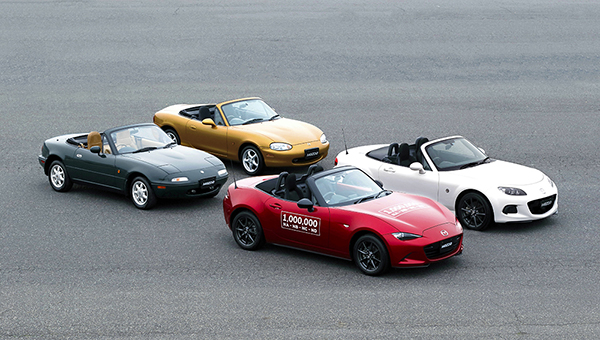 Mazda MX5 1 milion
