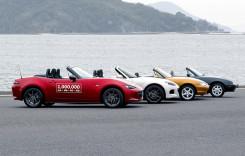 Mazda MX-5 produsă într-un milion de exemplare