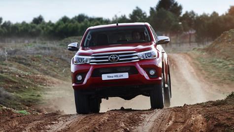 Noua Toyota Hilux, prezentată în detaliu
