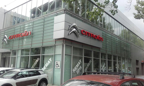 Showroom Dageco Citroen