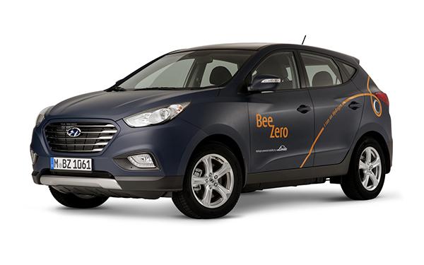 Hyundai iX35 Fuel Cell car sharing