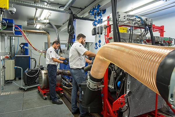 Laborator de teste Scania