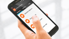 Aplicaţia WebEye Connect funcţionează de pe orice smartphone sau tabletă cu sistem de operare Android
