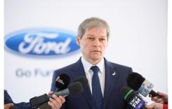 Premierul Cioloş a invitat Ford să producă modele electrice la Craiova