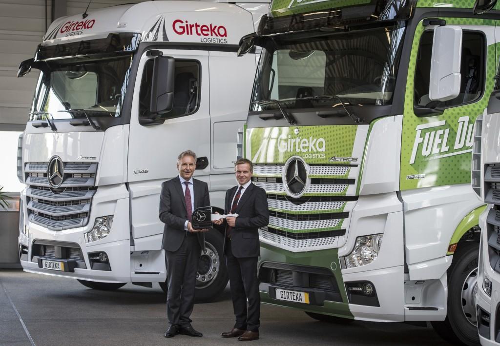 Mercedes Actros Girteka Logistics